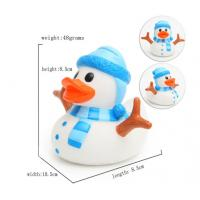 Wholesale LED Christmas duck, Flashing Santa ducks, Glow in the dark night Luminous duck from china suppliers