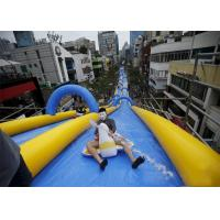 Wholesale Custom Blue Giant Inflatable Slide City Street Event Long Life Span from china suppliers