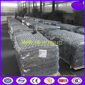 China Galvanized Zinc-Aluminium Alloy Gabion Basket on sale