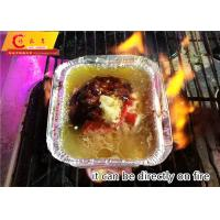 China 58 Micron 750cc Volume Heavy Duty Aluminium Foil Container on sale