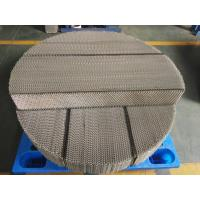 China Stainless Steel Metal Wire Mesh Structured Packing AX250, BX500, CY700 on sale