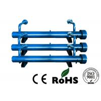 China Horizontal Industrial Heat Exchangers , Chiller Heat Exchanger Water Refrigerating Medium on sale