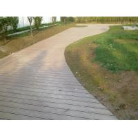 Wholesale Indoor Wood Plastic Composite Decking Floor 150x35MM / WPC Deck Tiles from china suppliers