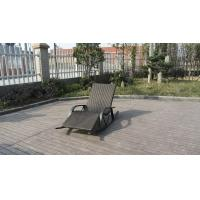 Wholesale Luxury Hotel / Home Patio Resin Wicker Rocking Chair , Waterproof from china suppliers