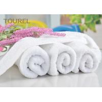 Wholesale Luxury 21S/2 Cotton Terry Hotel Hand Towels Plain Design for Gym from china suppliers