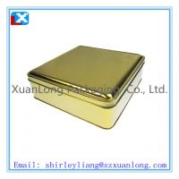 Wholesale Small chocolate gift tin boxes from china suppliers