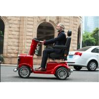 Wholesale Retro elder folding mobility scooter for disabled  800W  long distance 150*68*135cm 100kg 0~15km/h 150kg 24V,55AH from china suppliers