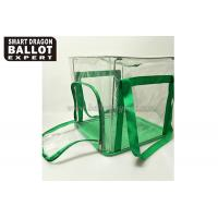 Wholesale Collapsible Locking Ballot Box Foldable Storage Box Green Ballot Bag from china suppliers