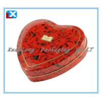 Wholesale Heart Shaped Metal Gift Tin Box/XL-5028 from china suppliers