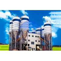Wholesale 120m3 / H Automated Belt Type HZS120 Concrete Batching Plant With 4 Bins from china suppliers