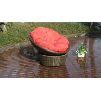 Wholesale UV Resistant PE Rattan / Resin Wicker Rocking Chair For Indoor from china suppliers