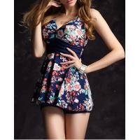 Wholesale Swimsuit female skirt conjoined cover the belly show thin steel bracket together boxer from china suppliers
