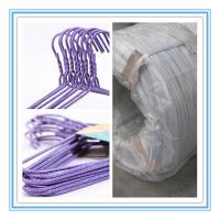 Wholesale Galvanized steel wire for clothes/coat hanger,hanger wire from china suppliers