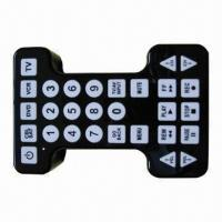 Wholesale Universal Remote Control with Large Buttons, Suitable for TV, DVD, DVR, VCR and SAT from china suppliers