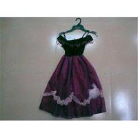 Wholesale Purple Graceful Dance Performance Costumes for Kids from china suppliers