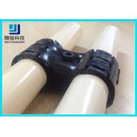 Quality Adjustable Swivel Metal Joint For Rotating In Pipe Rack System Black Fitting HJ-8 for sale