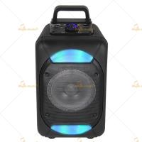 Wholesale Mobile Amplified PA Speaker Waterproof , 8 PA Speakers With Led Lights from china suppliers