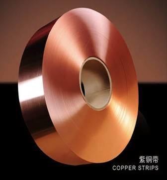 Quality T2 C11000 C1100 Copper Foil Roll CU-ETP GB UNS JIS 0.03-3mm Copper Terminal Strips for sale