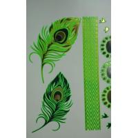 Wholesale Fluorescence metallic temporary tattoo from china suppliers