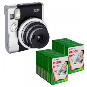 China Black Fuji Fujifilm Instax mini 90 Neo / Classic Polariod Instant Camera on sale