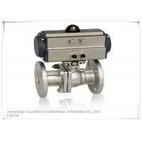 Wholesale Double Action Stainless Steel Motorized Ball Valve / Two Piece Ball Valve from china suppliers