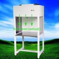 High Static Pressure, Optional Uv Light Vertical Laminar Flow Cabinet With Low Noise for sale