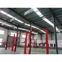 China Building Construction Steel Structure Workshop Metal Carports For Auto Maintenance for sale