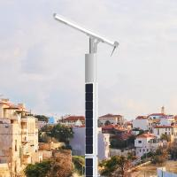 China 6 Meters Solar Powered Pole light Smart Control System for option 12000 Lumen on sale