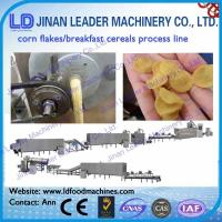 Wholesale breakfast cereals process line corn flakes machinery manufacturers in india from china suppliers