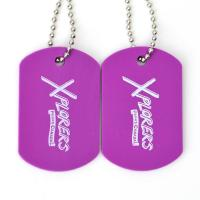 Wholesale Plastic Custom Promotional Gifts Dog Tags Rubber Material Printing Custom With Ball Chain from china suppliers
