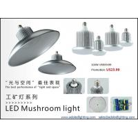 Wholesale factory lighting led highbay dimmable mushroom light meanwell driver bridgelux led CE from china suppliers