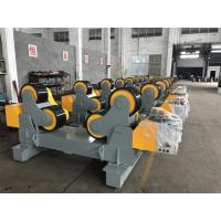 Buy cheap 80000 lbs / 40T Self Aligning Welding Rotator Pipe Stand Roller For Tank Welding from Wholesalers