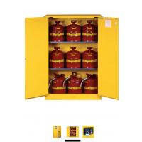 Wholesale Horizontal Petrol Drums Storage Cabinets Double Door For Storing 55 Gallon Drum from china suppliers