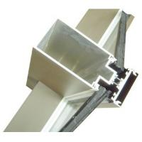 Wholesale Aluminum Curtain Wall Extruded Profiles with cutting , drilling from china suppliers