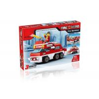 Wholesale Mini Fire Rescue DIY Building Blocks Educational Toys Convertable 3 Styles 220Pcs from china suppliers