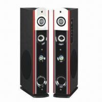 Wholesale 2.0CH Home Theater, Works with Mobile Phone, PC Speaker, DVD and More from china suppliers