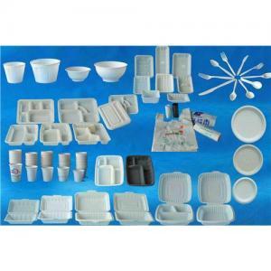Biodegradable tableware, disposable tableware, corn starch tableware, green tableware