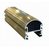 Wholesale Steel Polished Structural 6061 Aluminum Profile , Wood Grain Coated Extrusion Aluminum Profiles from china suppliers