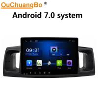 Buy cheap Ouchuangbo car multi media android 7.0 for Toyota Corolla 2013 with USB SWC from wholesalers