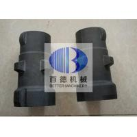 China Refractory Silicon Carbide Pipe 3 - 4 mm Thickness With High Temperature Resistance for sale