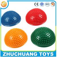China half ball inflatable pvc spiky balance toy on sale