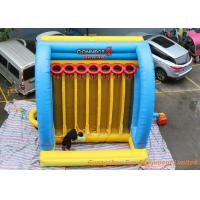 Buy cheap Cheap giant Inflatable Connect 4 Basketball Hoops For Sport Games from wholesalers