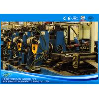 Blue Stainless Steel Tube Mill Dia 150 * 150mm Pipe , Adjustable Welded Pipe Mill