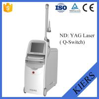China Medical Q Switched Nd Yag Laser Tattoo Removal Machine With Big Spot Size Treatment on sale