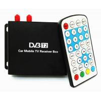 Wholesale Ouchuangbo  Car DVB-T2 TV Receiver Dual Tuner For Car DVD High Speed Mpeg4 Car Digital TV Box Tuner Auto Mobile from china suppliers