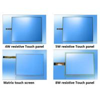 China ITO film Glass USB Resistive Matrix industrial Touch screen Panel 4w 5w 8w on sale