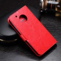 Wholesale Side - Open Moto G5 Plus Leather Case , Mixed Color PU Leather Wallet Case from china suppliers