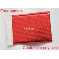 Wholesale Any Size Logo Metallic Bubble Mailers 2 Sealing Sides With Light Bubble Linings from china suppliers