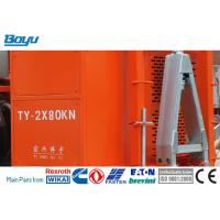 Quality Stringing Equipment Hydraulic Cable Tensioner 2x80kN / 1x160kN Diesel 97kw for sale