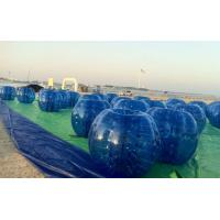 Wholesale EN14960 Blue Giant Hamster Ball Inflatable Body Ball Soccer For Commercial from china suppliers